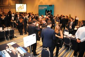 Delegates at Encontro de Resseguro with Lloyd's in Rio, 5 April