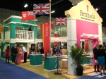 Bermuda: one of the more colourful and inventive stands