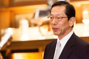 Shuzo Sumi, Chairman of Tokio Marine and architect of their international expansion