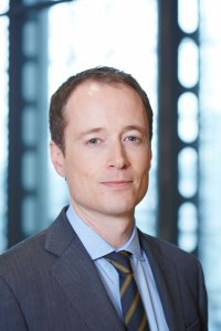 Sean McGovern, Lloyd's Chief Risk Officer and General Counsel, leading the EU 'Yes' campaign